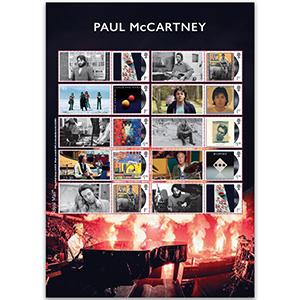 2021 Paul McCartney Collectors Sheet