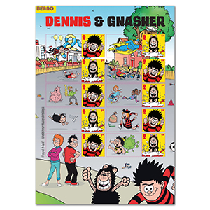 2021 Dennis & Gnasher Collectors Sheet