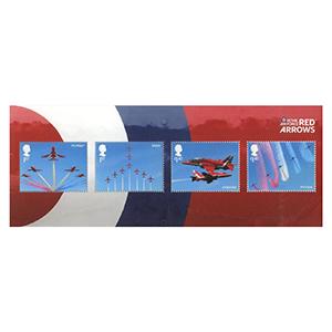 2018 Red Arrows Miniature Sheet