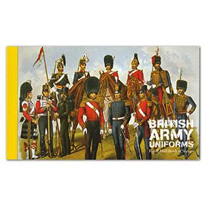 DX40 2007 8.50 British Army Uniforms prestige booklet