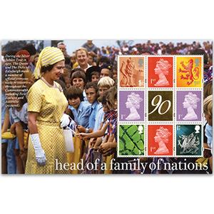 DY17  2016 90th Queen Elizabeth PSB Gold Label Machin Pane