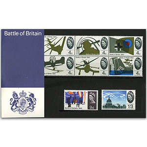 13/9/1965 Battle of Britain presentation pack