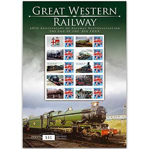 Great Western GB Customised Stamp Sheet