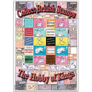 Collect British Stamps No.2 - GB Customised Stamp Sheet