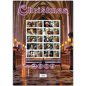 Christmas 2009 GB Customised Stamp Sheet