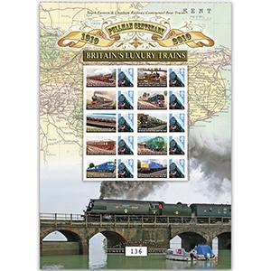 Pullman GB Customised Stamp Sheet No.2