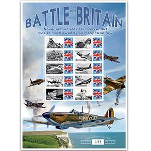 Battle of Britain GB Customised Stamp Sheet