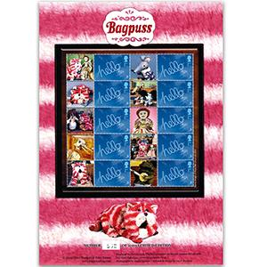 Bagpuss GB Customised Stamp Sheet