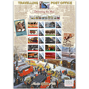 Travelling Post Office GB sheet - HoB 62