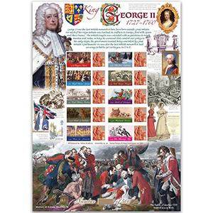 George II GB Sheet - HoB 78