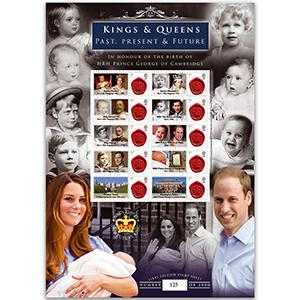 Royal Baby GB Customised Stamp Sheet