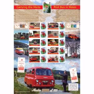 Post Bus in Wales History of Britain 94
