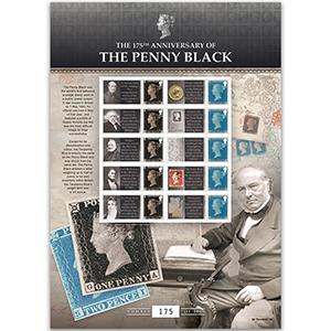 175th Anniversary of the Penny GB Customised Stamp Sheet