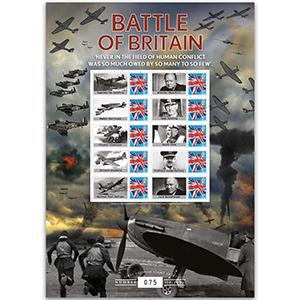 2015 Battle of Britain 75th Anniversary GB Customised Stamp Sheet