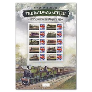 2016 Railway GB Sheet