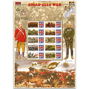 Anglo-Zulu War HoB 46 Stamp Sheet