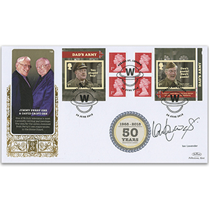2018 Dad's Army Retail Booklet GOLD 500 - Signed by Ian Lavender