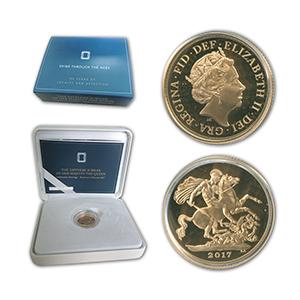 2017 Sapphire Jubilee Gold Sovereign
