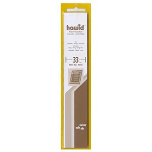 Hawid Mounts 33mm Black Strip (Per 25)