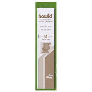 Hawid Mounts 41mm Black Strip (Per 25)