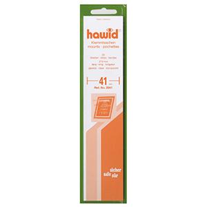 Hawid Mounts 41mm Clear Strip (Per 25)