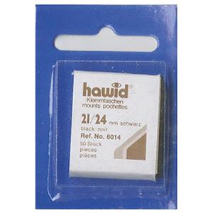 Hawid Mounts 21X24 Black (Per 50)