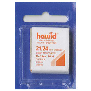 Hawid Mounts 21X24 Clear (Per 50)