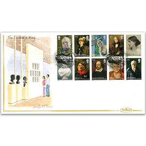 2006 National Portrait Gallery Hand Painted Cover - Jennifer M. Toombs