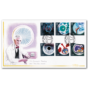 2010 Medical Breakthroughs Handpainted Cover - Jennifer M Toombs