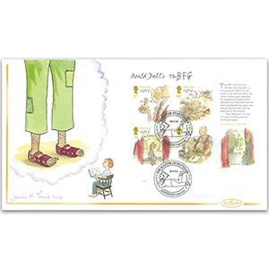 2012 Roald Dahl M/S 'BFG' Handpainted Cover - Jennifer M. Toombs