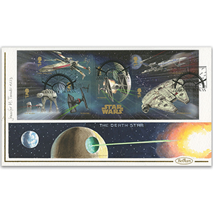 2015 Space Adventure Stamps Handpainted Cover