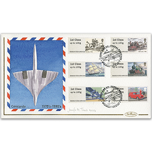 2016 P & G Royal Mail Heritage Handpainted Cover