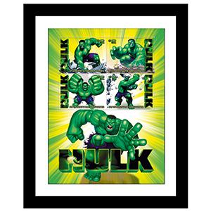 Hulk Framed Stamp Sheet