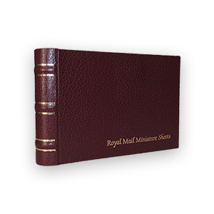 Royal Mail Miniature Sheets Album