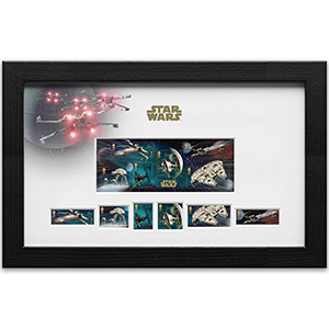 Royal Mail Framed Edition - M/S & 6 Stamps