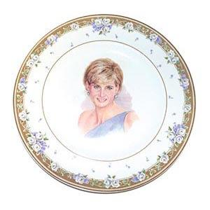 Diana limited edition plate