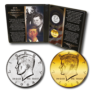 JFK 50th Anniversary Coin Collection