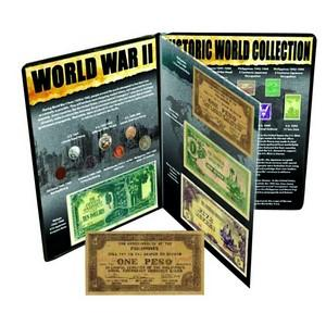 World War II Currency & Stamp Collection