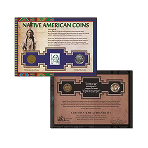 Native American Stamp & Coin Collection