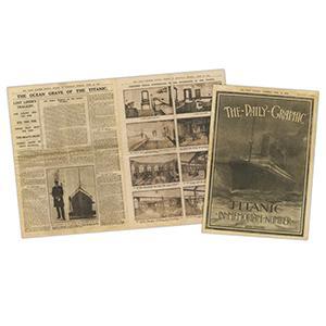 Replica 'The Daily Graphic - Titanic In Memoriam' Edition