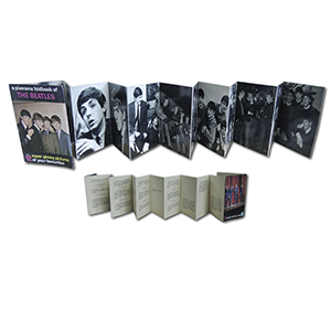 The Beatles Pixerama Foldbook