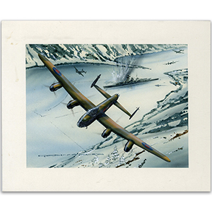 Sinking of the Tirpitz by Gordon C Davies
