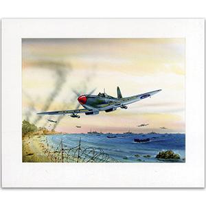 Allied Landings Begin at Anzio by Gordon C Davies