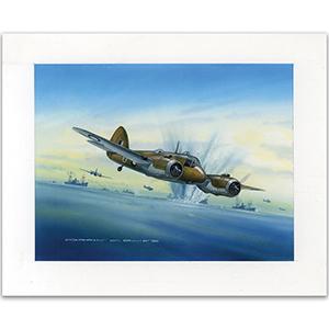 Battle of the Bismarck Sea by Gordon C Davies
