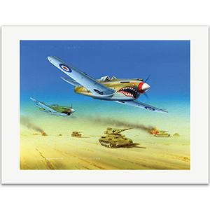 Battle of El Alamein by Gordon C Davies