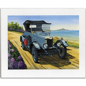 1925 Morris Cowley Bullnose by Gordon C Davies