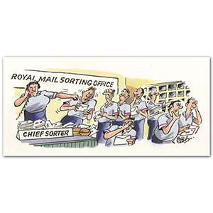 Royal Mail Sorting Office by Larry