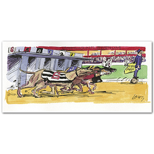 Greyhound Stadium by Larry
