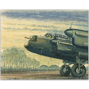 Lancaster artwork by Kenneth C Aitken