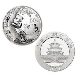 2021 $10 Yuan Silver Panda Coin